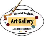 Wondai Regional Art Gallery logo
