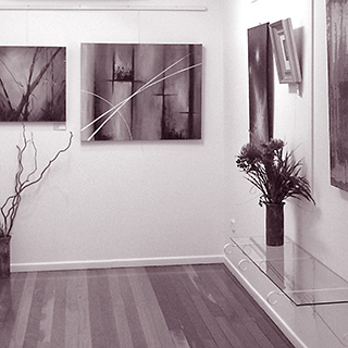 First Gallery at the Wondai Regional Art Gallery