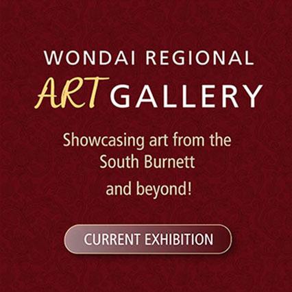 Wondai Regional Art Gallery, Showcasing art from the South Burnett and beyond