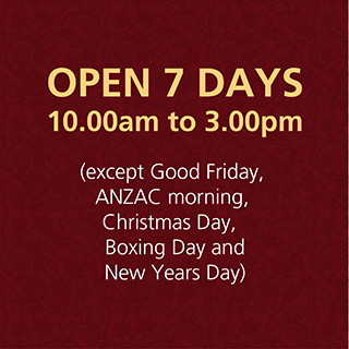 Gallery Opening Times